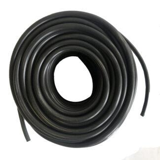 """3/8"""" custom blend matte black tubing"""